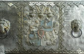 Kurzemes hercoga Vilhelma sarkofāga alvas detaļu restaurācija