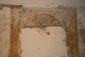 Krustpils pils mākslīgais marmors. D-siena pēc attīrīšanas