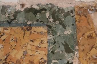 Krustpils pils mākslīgais marmors. Fragments pēc attīrīšanas