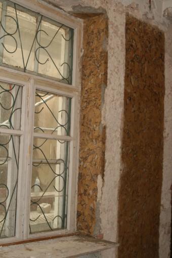 Krustpils pils mākslīgais marmors. A-sienas fragments pēc attīrīšanas