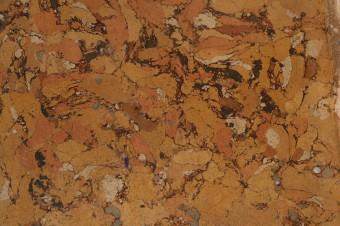 Krustpils pils mākslīgais marmors. Fragments pēc nostiprināšanas